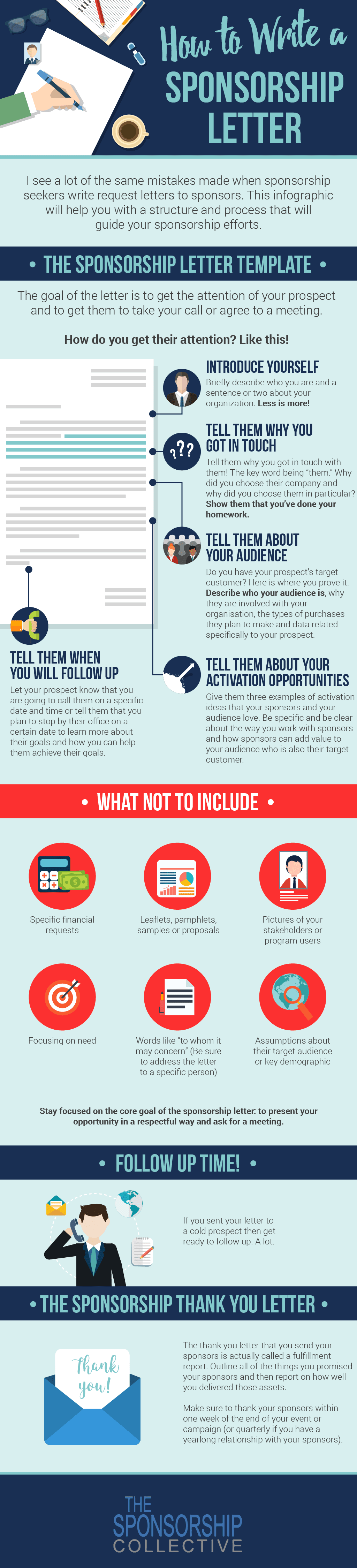How To Write A Sponsorship Letter With A Template And Infographic