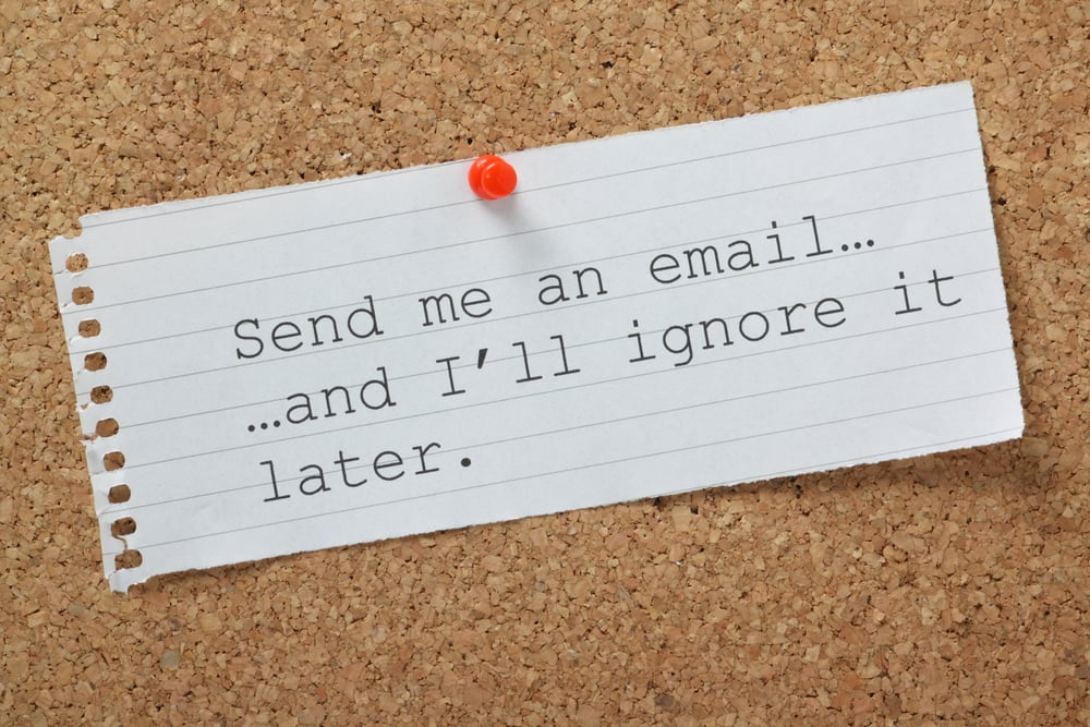 The Five Reasons Your Sponsors Ignore Your E-mails
